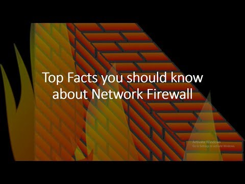 Top Facts you should know about Network Firewall