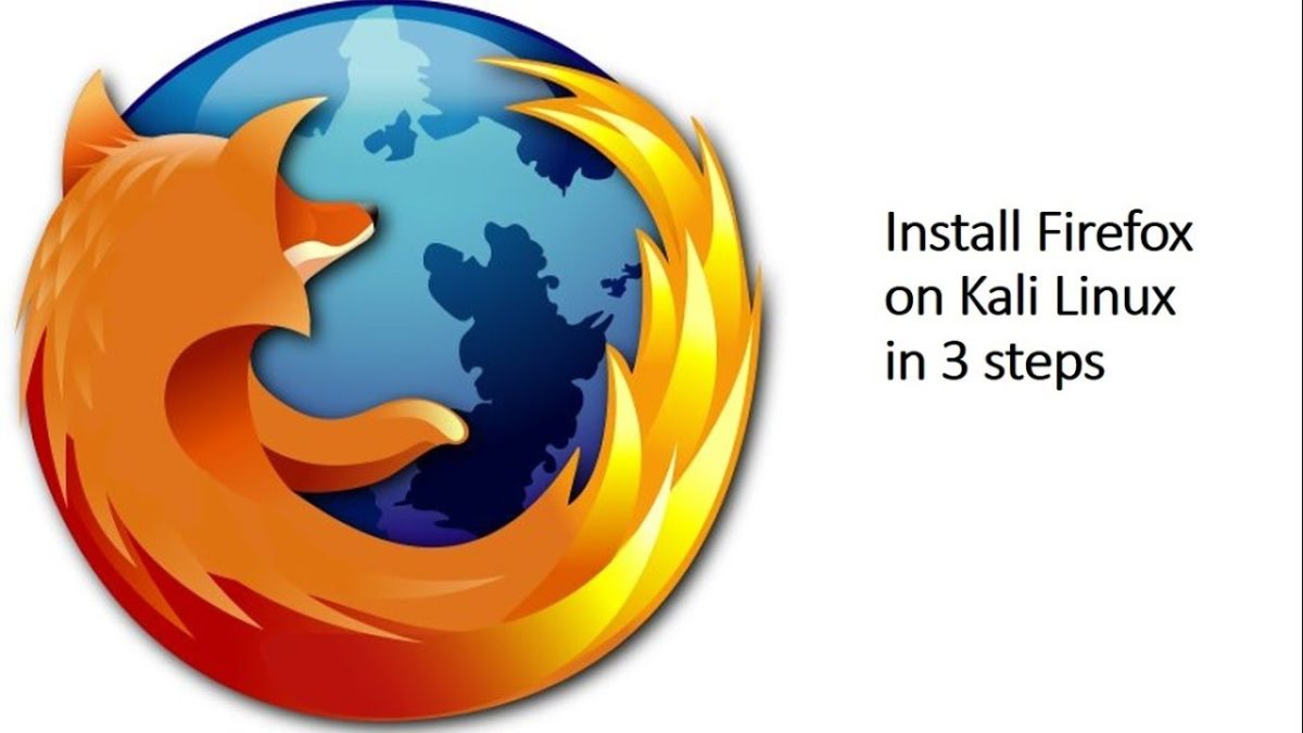 Install Firefox Browser on Kali Linux in 3 steps