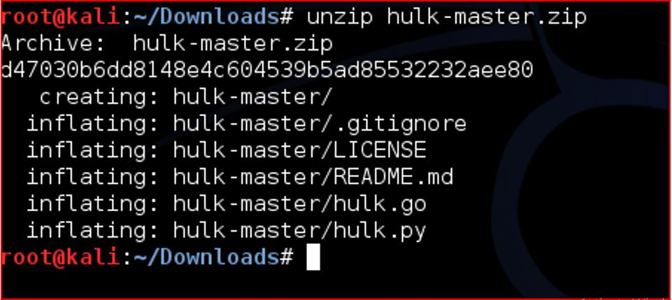 Hulk DDoS Tool : Complete Installation & Usage with Examples - All