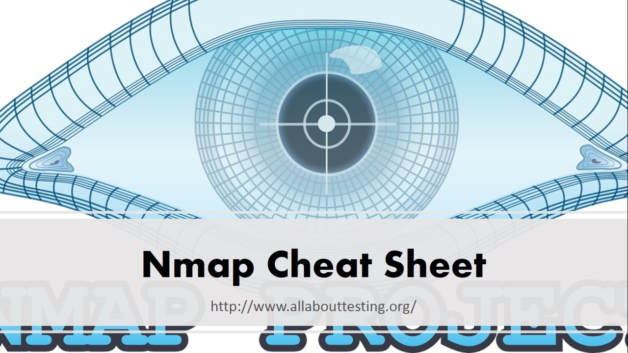 Nmap Cheat Sheet - All About Testing