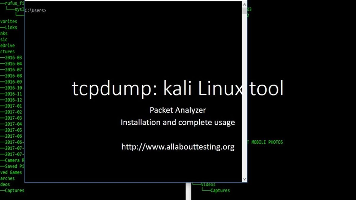 tcpdump: Installation and Complete Usage