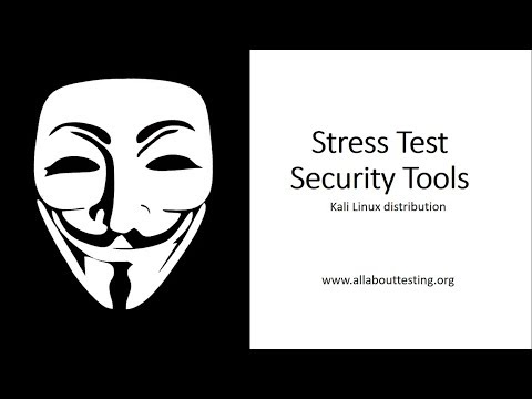 Stress Test tools | Kali Linux