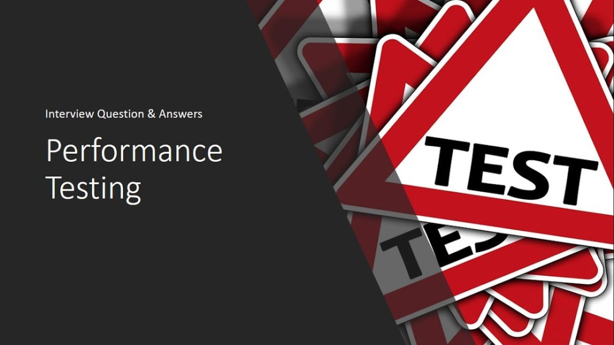 Top 10 Interview Questions | Performance Testing