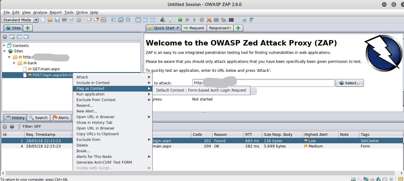 Basic Tutorial: Free Security Vulnerability Scanner ZAP