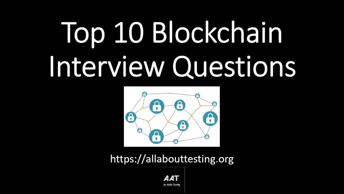 Top Blockchain Interview Questions