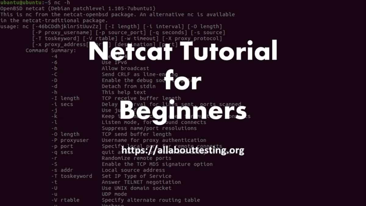 Netcat Tutorial for Beginners